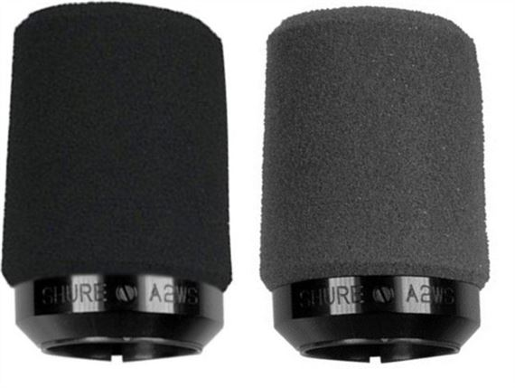 Shure A2WS Locking Microphone Windscreen for SM57