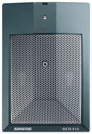 Shure Beta 91A Half Cardioid Boundary Condenser Microphone