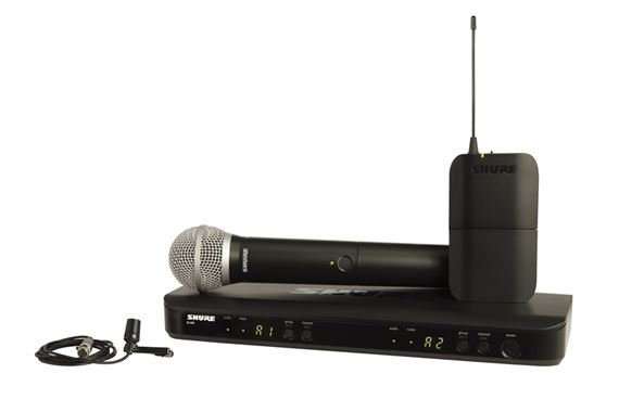 Shure BLX1288/CVL Combo Handheld and Lapel Wireless System