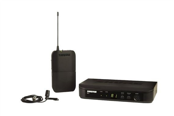 Shure BLX14/CVL Lapel Wireless Microphone System