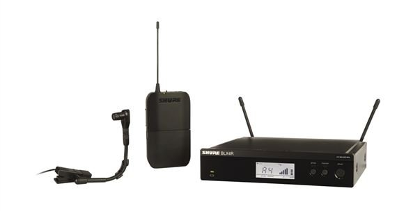 Shure BLX 14RB98 Rackmountable Wireless Instrument Mic System