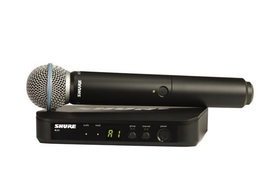 Shure BLX 24B58 Handheld Wireless Mic System with Beta 58A