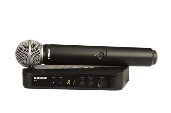 Shure BLX 24SM58 Handheld Wireless Microphone System with SM58