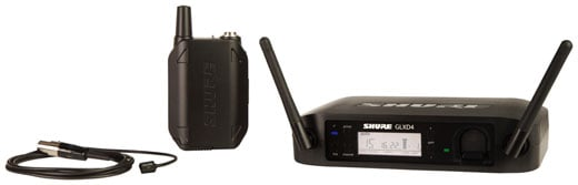 Shure GLX-D1493 Digital Lavalier Wireless Mic System with WL93 Mic