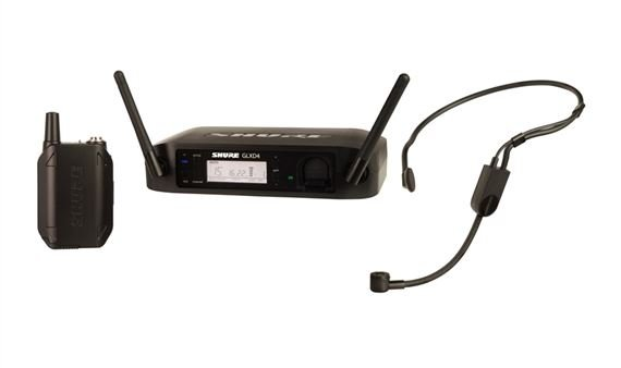 Shure GLXD14 PGA31 Digital Headworn Wireless Mic System