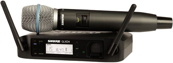 Shure GLXD24 Beta87A Digital Handheld Wireless Mic System