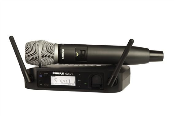 Shure GLXD24 SM86 Digital Handheld Wireless Mic System