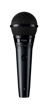 Shure PGA58 Alta Dynamic Vocal Microphone with Cable