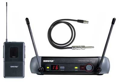 Shure PGX14 UHF Guitar Wireless System