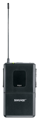 Shure PGX1 Wireless Bodypack Transmitter for PGX Wireless