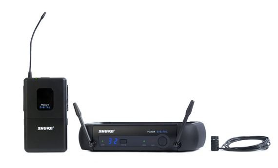 Shure PGX Digital Lapel Wireless Mic System with WL85 Mic