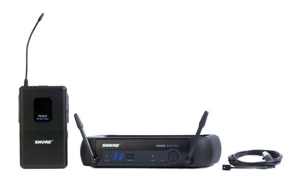 Shure PGX Digital Lapel Wireless Mic System with WL93 Mic