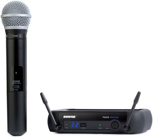 Shure PGX Digital Handheld Wireless Mic System with PG58