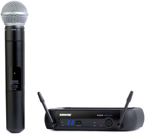 Shure PGX Digital Handheld Wireless Mic System with SM58