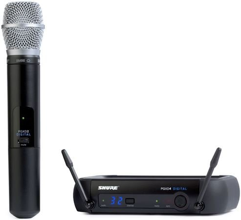 Shure PGX Digital Handheld Wireless Mic System with SM86