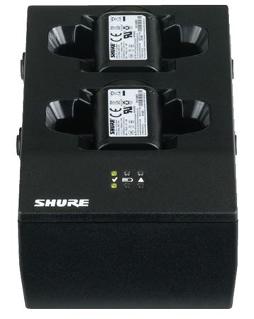 Shure SBC200US Dual Docking Charger with Power Supply