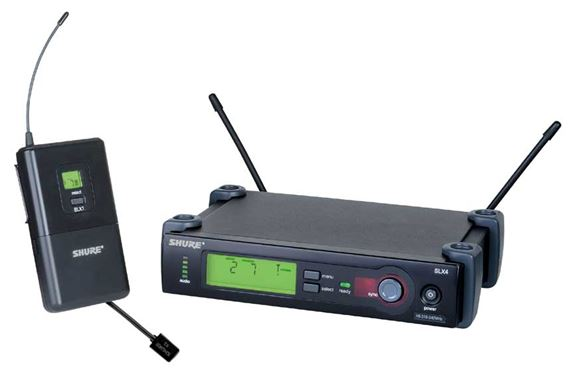 Shure SLX UHF Lapel Wireless Microphone System with WL93 Mic