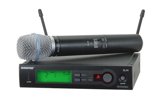 Shure SLX UHF Handheld Wireless Mic System with Beta 87A