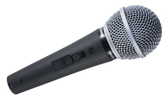 Shure SM48S With On/Off Switch Handheld Vocal Microphone