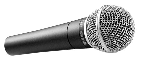 shure sm58 dynamic vocal microphone. Black Bedroom Furniture Sets. Home Design Ideas