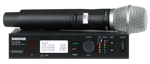 Shure ULXD24SM86 Digital SM86 Handheld Wireless Mic System