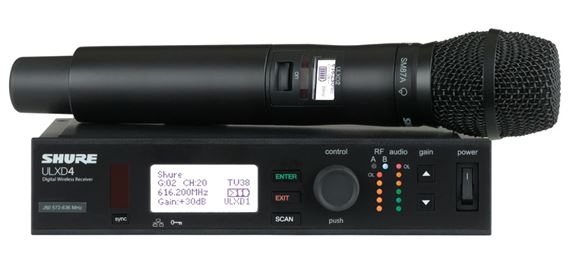Shure ULXD24SM87 Digital SM87A Handheld Wireless Mic System