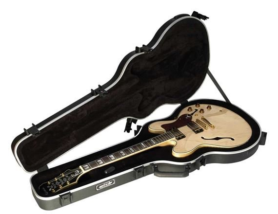 SKB 35 Thin Body Semi Hollow Electric Guitar Case