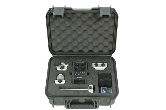 SKB 3i-1209-4-H6B Case for Zoom H6 Broadcast Recorder Kit