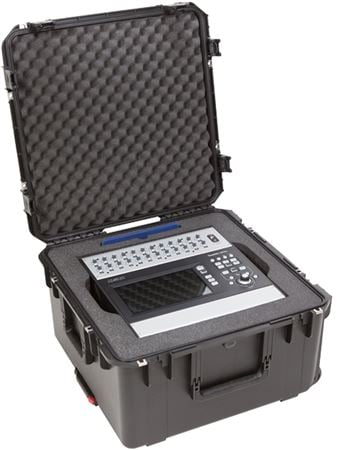 SKB 3i2222-12QSC Injection Molded Case for QSC TouchMix-30
