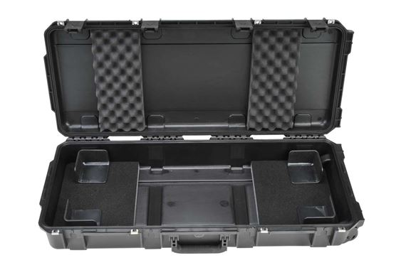 SKB iSeries Waterproof Molded Keyboard Case with Wheels