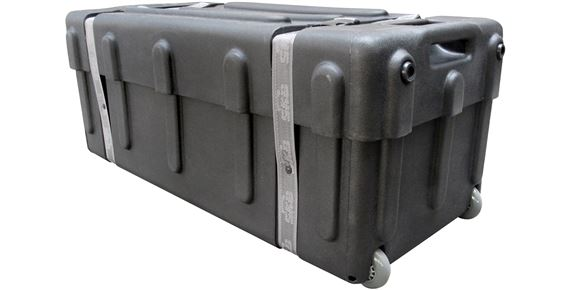 SKB Drum Hardware Case with Wheels