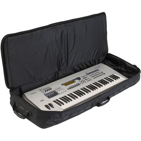 skb padded rolling keyboard bag. Black Bedroom Furniture Sets. Home Design Ideas