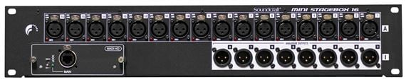 Soundcraft Mini Stagebox 16 16x8 Digital Stagebox For Si-Series Mixers