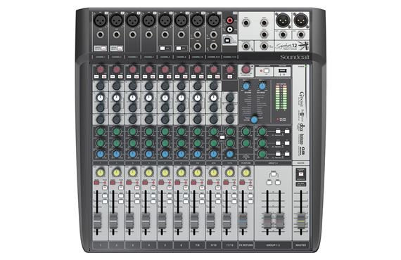Soundcraft Signature 12MTK Multi-Track 12-Channel Mixer