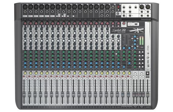 Soundcraft Signature 22 MTK Multi-Track 22-Channel Mixer