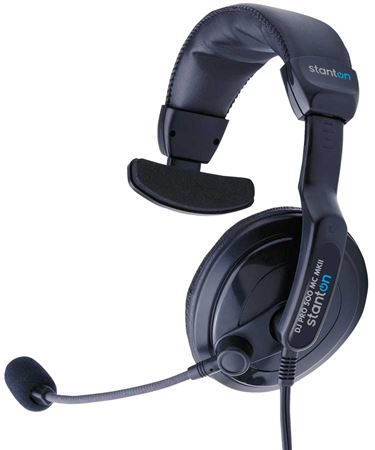 Stanton DJ Pro 500 MC MKII DJ Headphones with Microphone