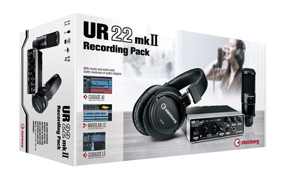 Steinberg UR22MKII Audio Interface Recording Pack