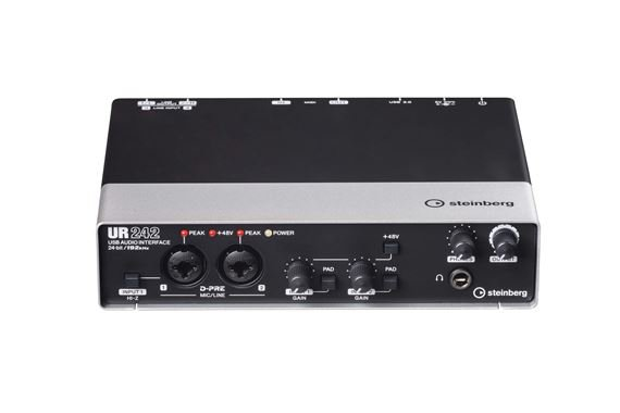 Steinberg UR242 USB and IOS Audio Interface
