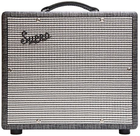 Supro Supreme 2 Channel Guitar Amplifier Combo 1x10 25 Watts