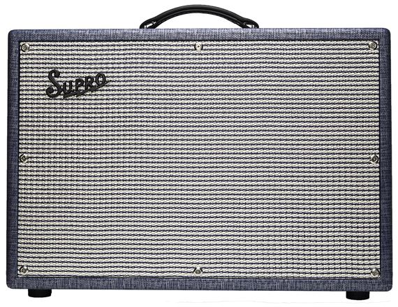Supro Saturn Reverb Electric Guitar Amplifier Combo 1x12 15 Watts