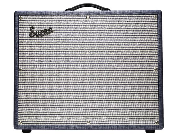 Supro Thunderbolt Plus Guitar Combo Amplifier 1x15 60 Watts