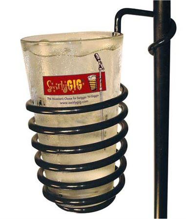 Swirly Gig Mic Stand Drink Holder