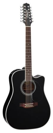 Takamine EF381SC 12-String Acoustic Electric Guitar with Case