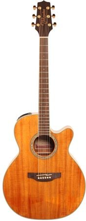 Takamine GN77KCE Koa Acoustic Electric Guitar Natural