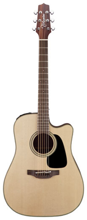 Takamine P2DC Dreadnought Acoustic Electric Guitar with Case