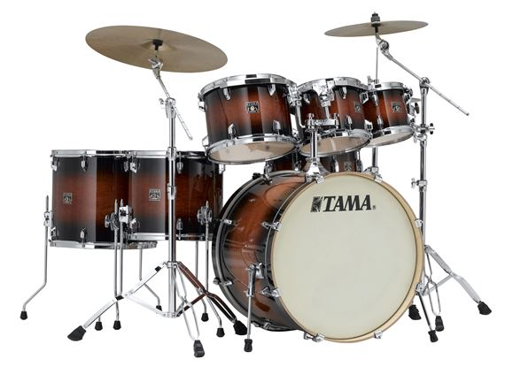 Tama Superstar Classic 7 Piece Lacquer Shell Kit Drum Set