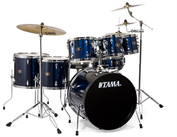 review tama imperialstar is62c 6 piece drum set with meinl cymbals. Black Bedroom Furniture Sets. Home Design Ideas