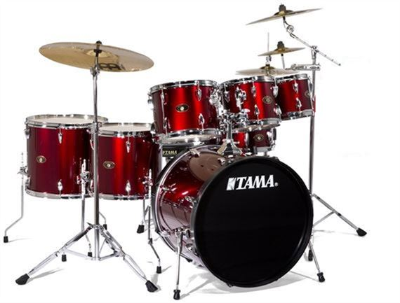 Tama Imperialstar IS62C 6 Piece Drum Set with Meinl Cymbals