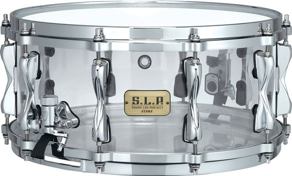 Tama SLP Limited Edition Mirage 65x14 Clear Acrylic Snare Drum