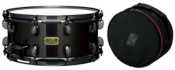 Tama LBR1465 SLP Black Brass Snare Drum